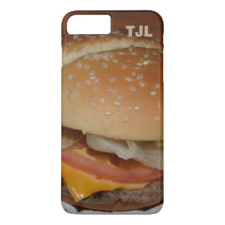 Cheeseburger - Your Initials, Personalized case! iPhone 7 Plus Case