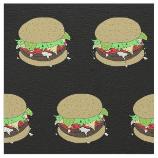 Cheeseburger Fabric