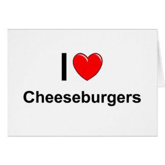 Cheeseburgers Card