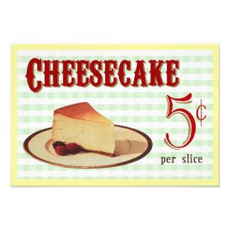 Cheesecake Art Photo