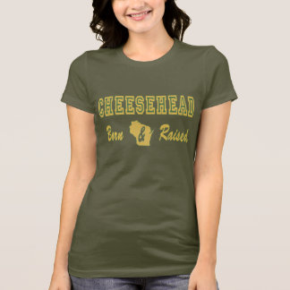 cheesehead born and raised2 T-Shirt