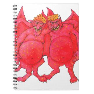Cheesehead Demons Notebook
