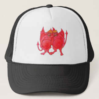 Cheesehead Demons Trucker Hat