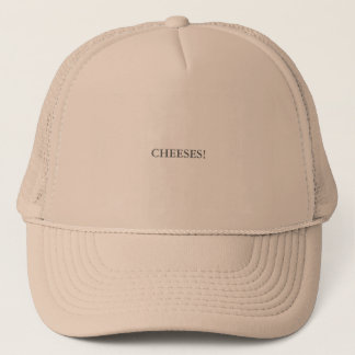 CHEESES TRUCKER HAT