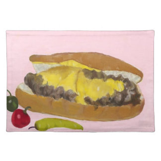 Cheesesteak Placemat