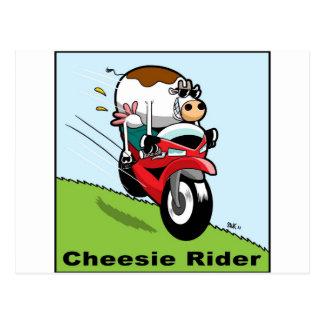 Cheesie Rider Postcard