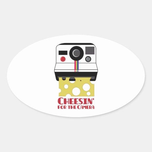 Cheesin Camera Sticker