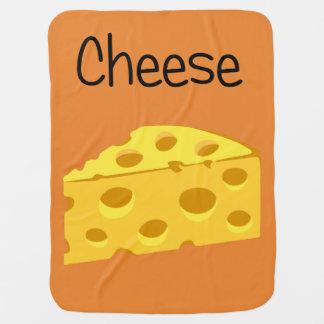 Cheesy Cheese Baby Blanket