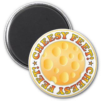Cheesy Feet R Magnets
