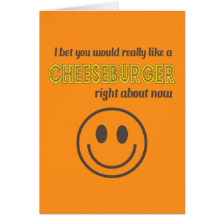 Cheesy Humor Card