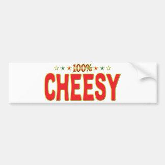 Cheesy Star Tag Bumper Sticker