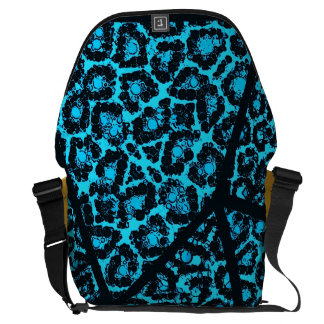 Cheetah Abstract Pattern Courier Bag