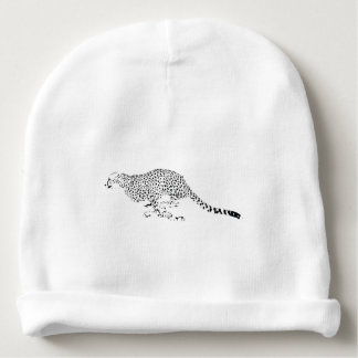 Cheetah Baby Beanie