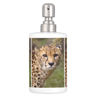 Cheetah Bath Set