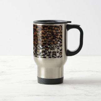 Cheetah Bling Art Decor Travel Mug
