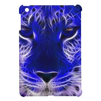cheetah blue fractal design iPad mini cases