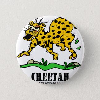 Cheetah by Lorenzo © 2018 Lorenzo Traverso 6 Cm Round Badge