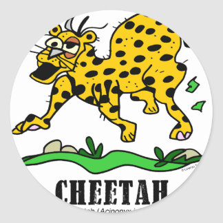 Cheetah by Lorenzo © 2018 Lorenzo Traverso Classic Round Sticker