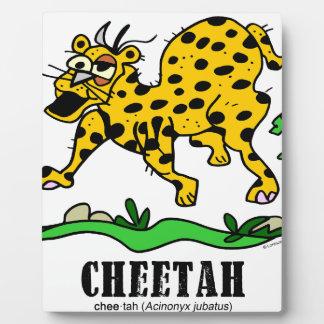 Cheetah by Lorenzo © 2018 Lorenzo Traverso Plaque