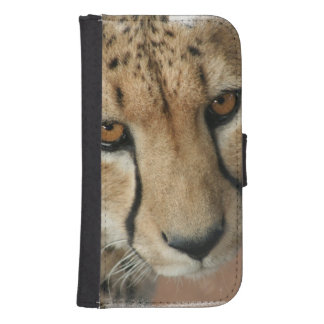 Cheetah Cat Galaxy S4 Wallets