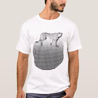 Cheetah Dot Abstract Design T-Shirt