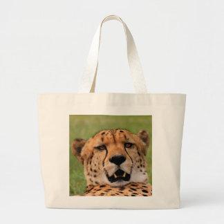 Cheetah Face Jumbo Tote Jumbo Tote Bag