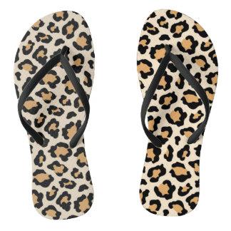 Cheetah Flip-Flops by Elle Rose Thongs