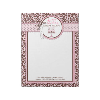 Cheetah Girl Business Notepad