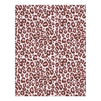 Cheetah Girl Scrapbook Paper Dual-sided CH 21.5 Cm X 28 Cm Flyer