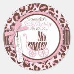 Cheetah Girl Sticker 2