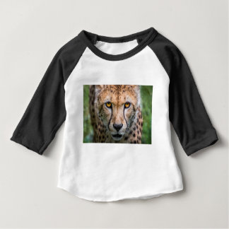 Cheetah Head Baby T-Shirt