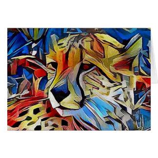Cheetah in Africa Card