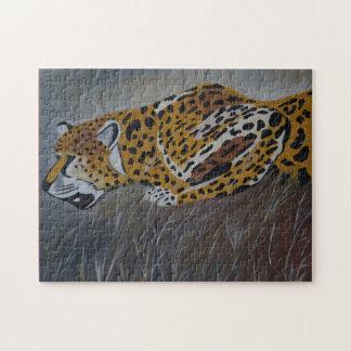 cheetah jigsaw puzzle