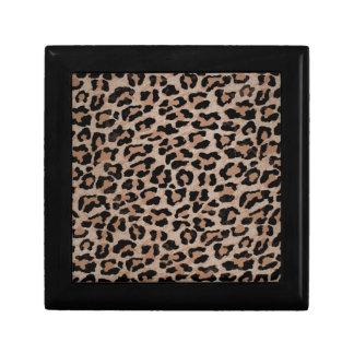 cheetah leopard print gift box