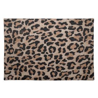 cheetah leopard print placemat