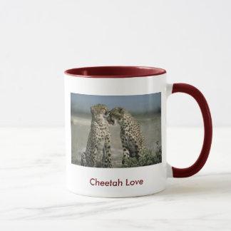 Cheetah Love 15oz. Ringer Mug