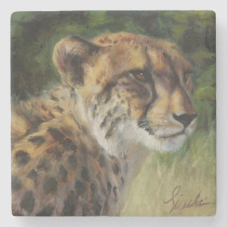 Cheetah Marble Coaster