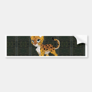 Cheetah Paper Products Bumper Sticker