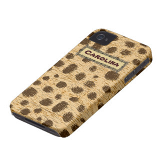 Cheetah Pattern Animal Print Personalized Case iPhone 4 Case-Mate Case