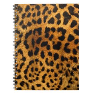 Cheetah Pattern Notebook
