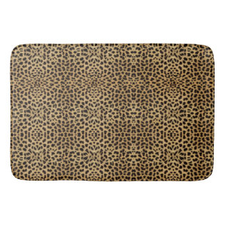 Cheetah Print Bath Mat