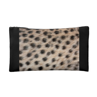 Cheetah Print Cosmetics Bags