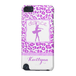 Cheetah Print Dance in Purple iPod Touch 5 Case iPod Touch 5G Cases