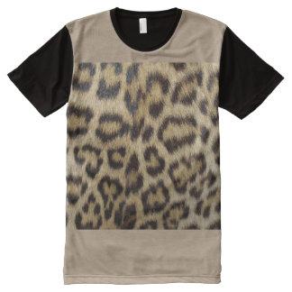 Cheetah Print Men's American Apparel All-Over Prin All-Over Print T-Shirt