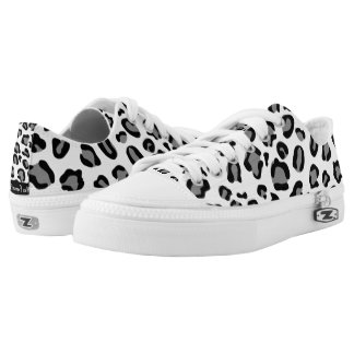 Cheetah Print Shoes Unisex Skating Trainers