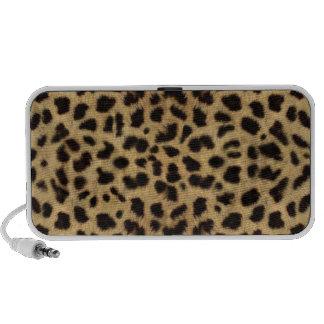 Cheetah Print Mini Speakers