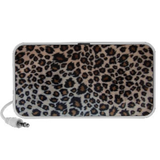 Cheetah print speaker