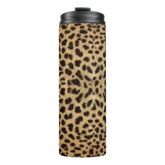 Cheetah Print Thermal Tumbler