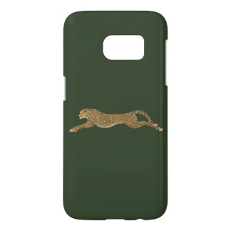 Cheetah Samsung Galaxy S7, Barely There Phone Case