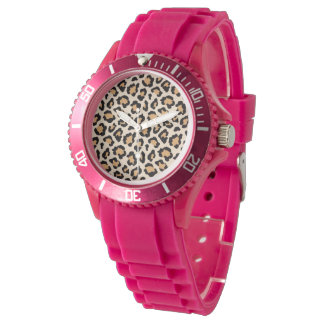 Cheetah Silicone Watch by Elle Rose